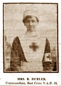 VAD commandant Mrs Durler