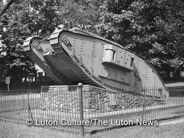 Wardown presentation tank