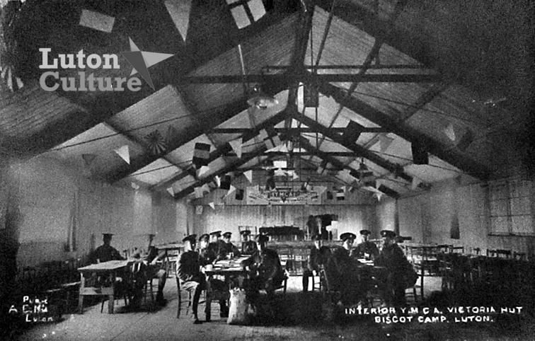 YMCA Hut interior