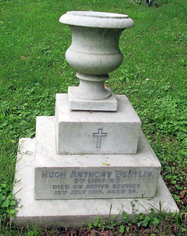 Bertlin grave at Houghton Regis