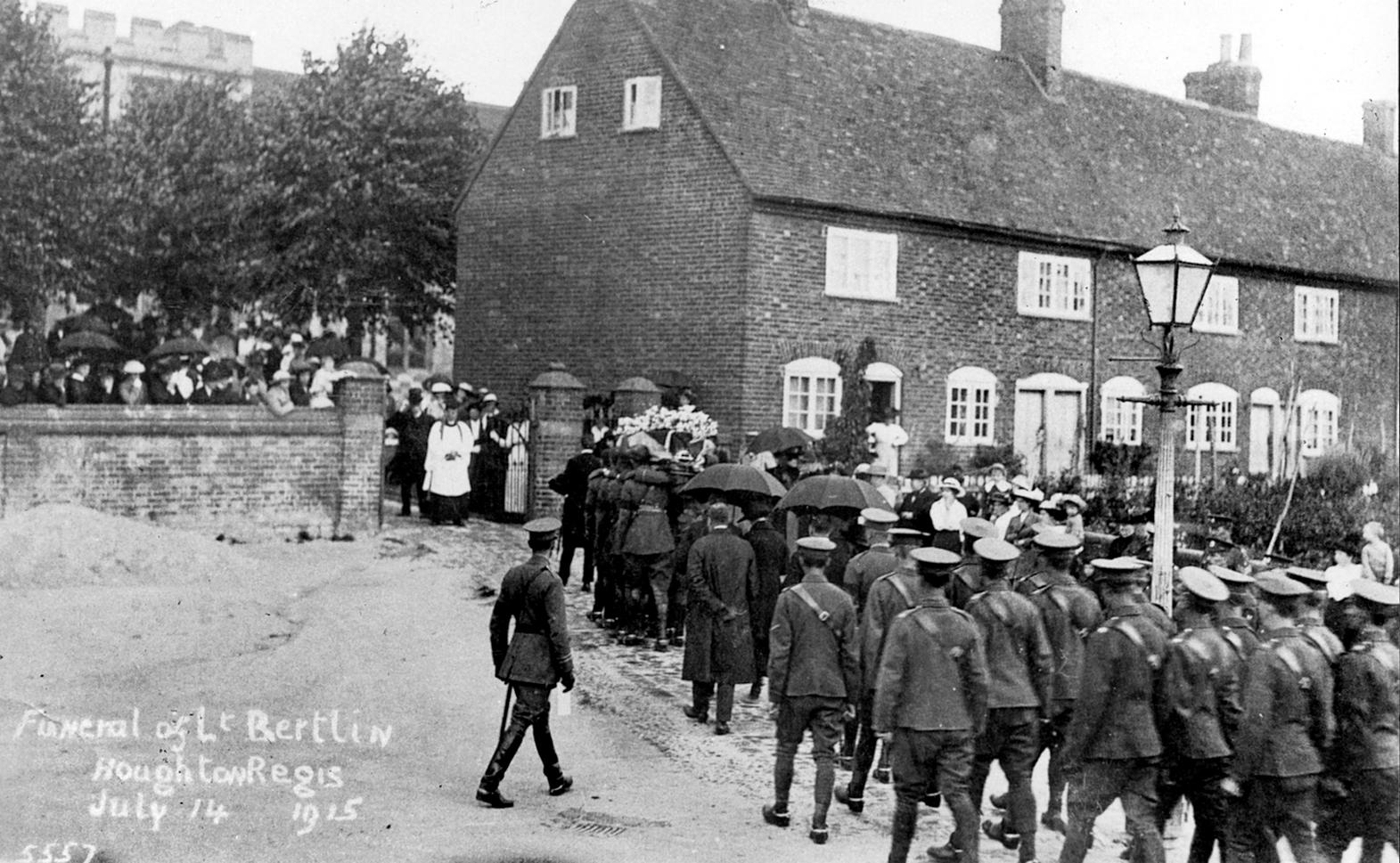 Hugh Bertlin's Funeral