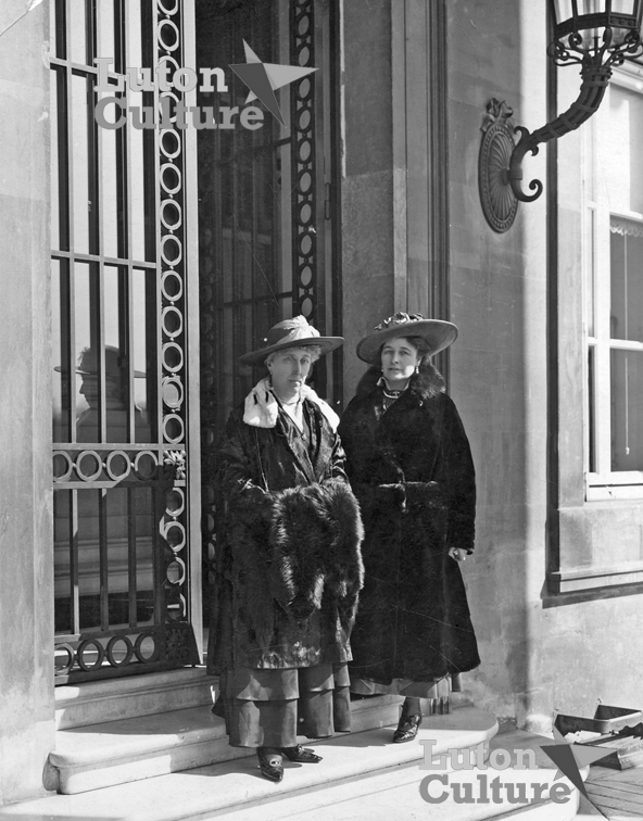 Lady Wernher and Princess Victoria Louise