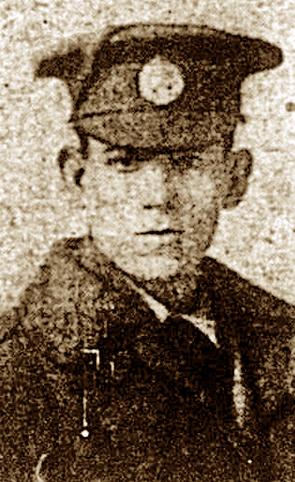 Rifleman Willian Ernest Ratcliffe