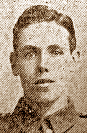 Pte Bertram Hubert Spalding