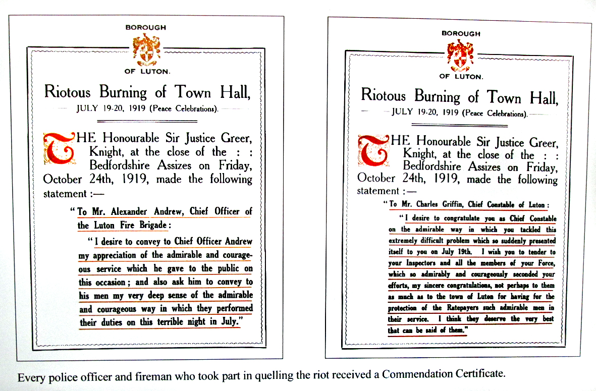 Judge Greer commendations