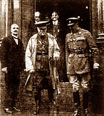 Duke of Bedford and Major Sidney Green