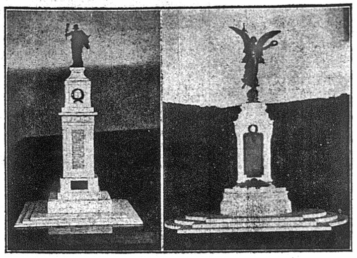 War Memorial designs