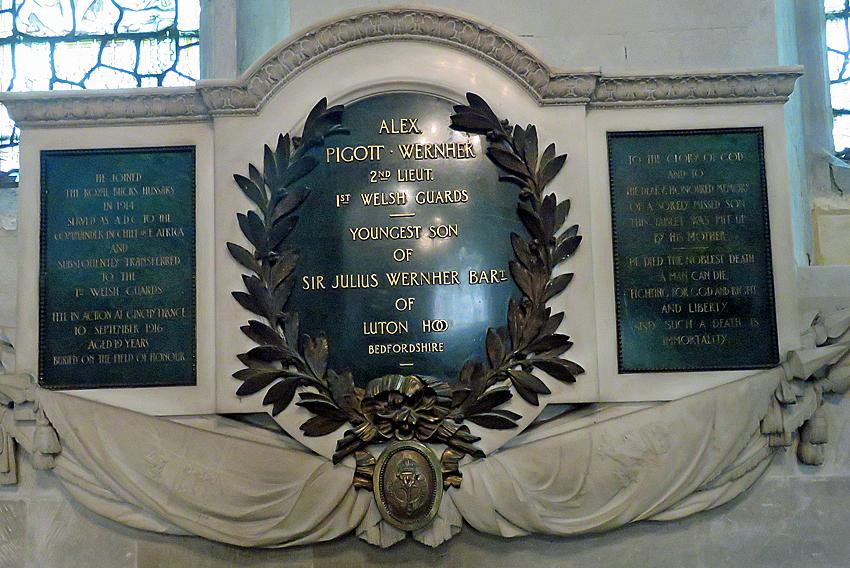 Alex Wernher Memorial