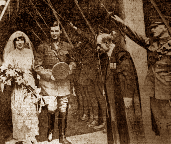 Wernher wedding, July 1917