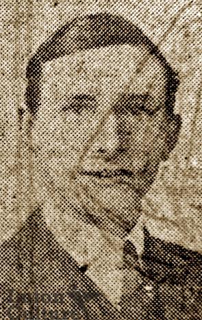 Rifleman Alfred John Stanley Bruton