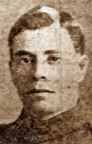 Pte Percy Frank Buckingham