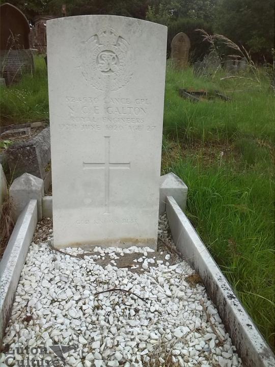 Nelson's Headstone