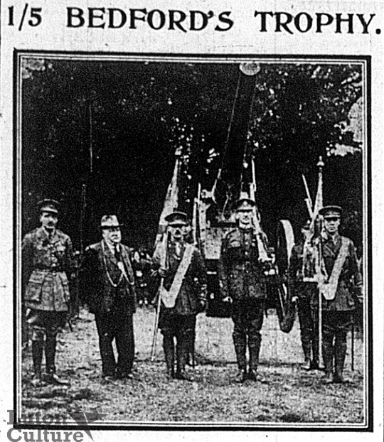 Wardown gun gift from 1/5th Bedfords