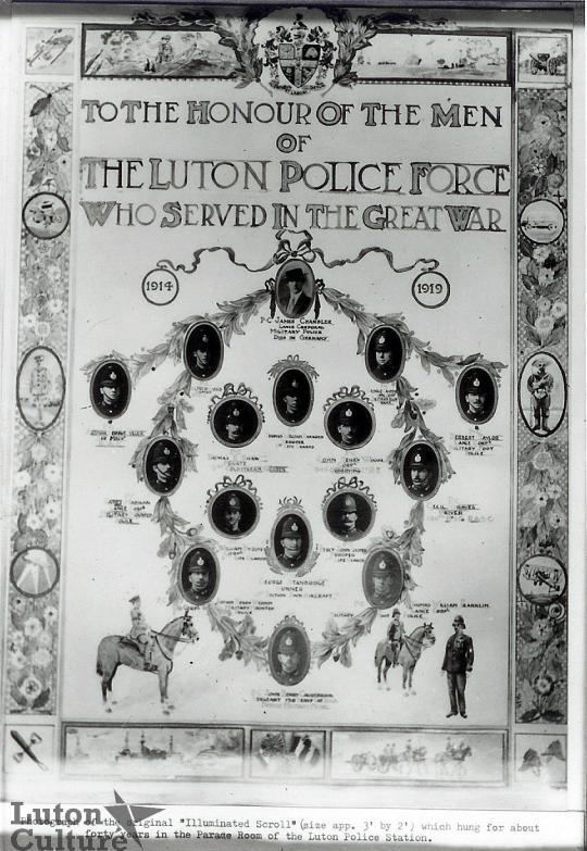 Luton Borough Police Roll of Honour