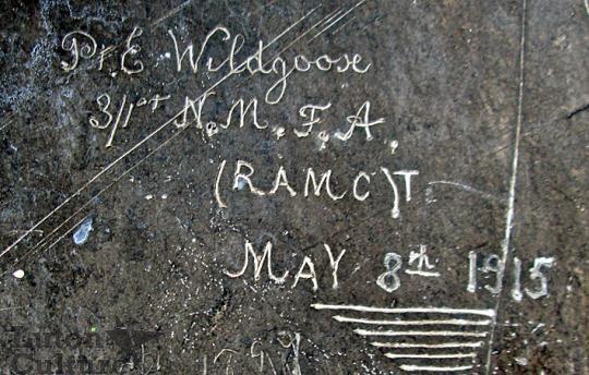 Wardown House graffiti, Wildgoose