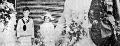 Wedding of Miss Eila Cumberland and James Ernest Sutcliffe Smith