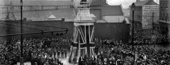 Luton War Memorial unveiling