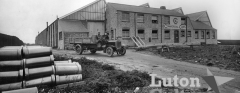 Commer Cars factory soon after opening